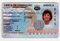 Carta de condução - permis de conduitre angolais