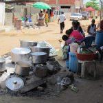 Cuisine dans la rue
