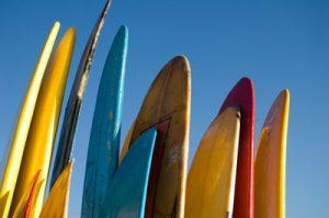 Les planches de surf sont utiles en Angola