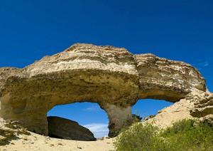 Une oasis dans le désert de Namibe