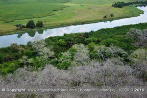 La rivière Kwanza et le parc de Kissama