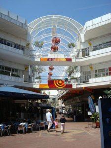 Rosebank mall à Johanesbourg