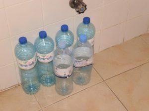 Ecologie bouteilles d'eau
