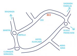 Plan du Café de la rentrée de Vivre en Angola