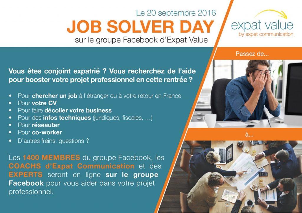 Job Solver Day par Expat Value